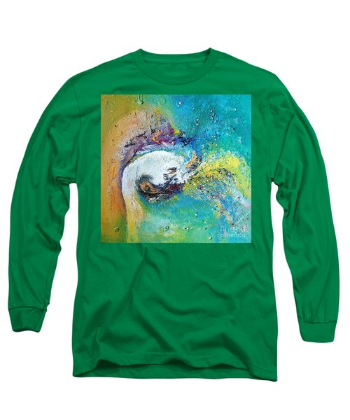 Harmony Long Sleeve T-Shirt by Sanjay Punekar