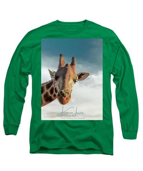 Long Sleeve T-Shirt featuring the photograph Hello Down There by Karen Lewis