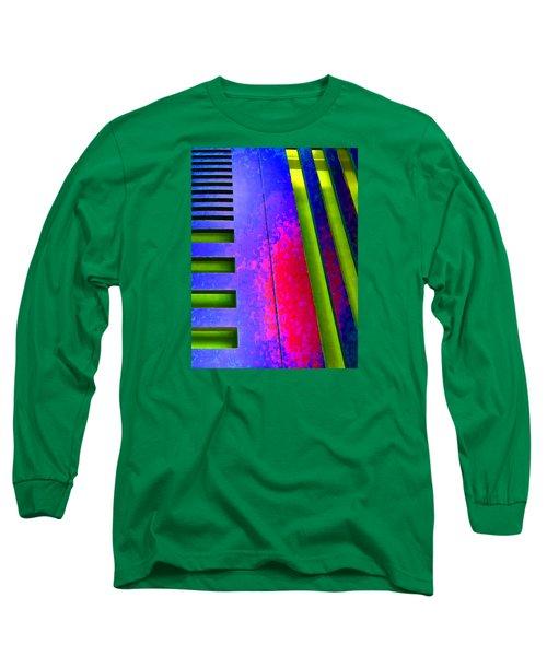 Hit And Miss - 1 Long Sleeve T-Shirt by Robert J Sadler