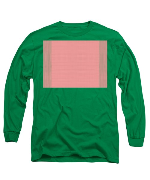 Horizontally Vertical Lines Long Sleeve T-Shirt