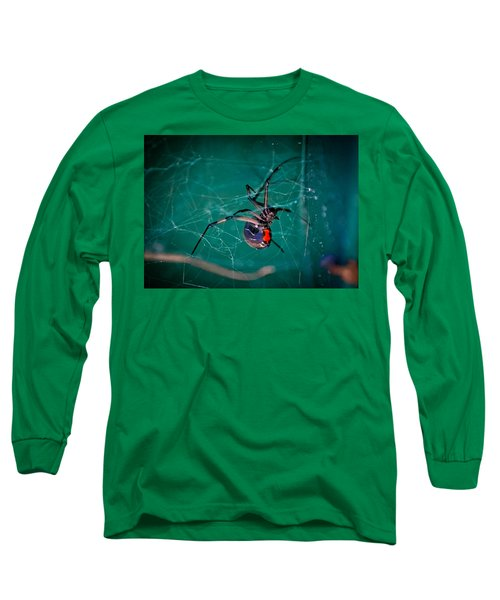 Hour Glass Of Death Long Sleeve T-Shirt by DigiArt Diaries by Vicky B Fuller