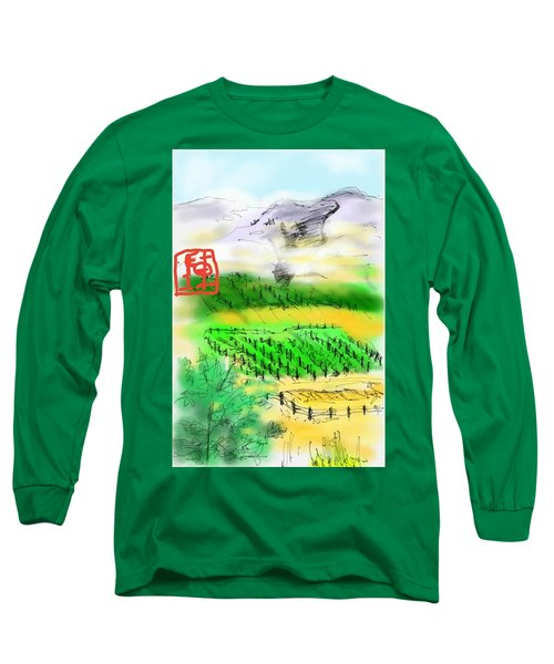 Idaho Vineyard Long Sleeve T-Shirt
