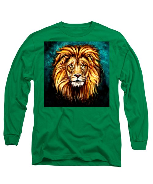In Honor Of Cecil Long Sleeve T-Shirt by Karen Showell