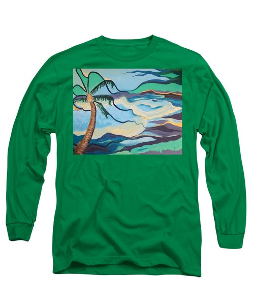 Jamaican Sea Breeze Long Sleeve T-Shirt