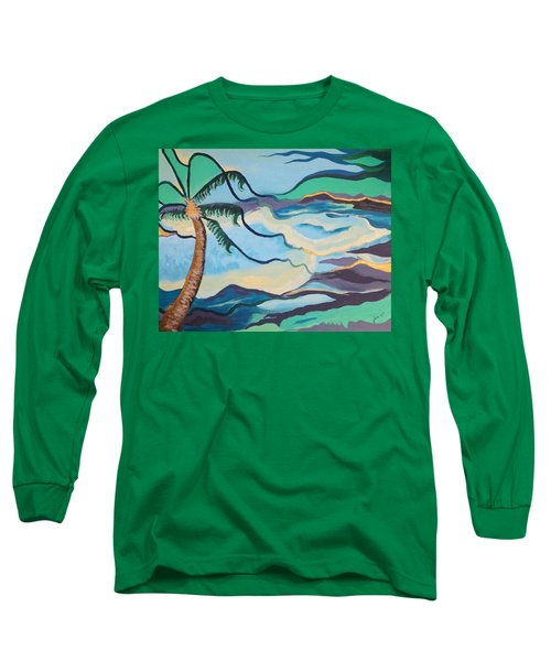 Jamaican Sea Breeze Long Sleeve T-Shirt