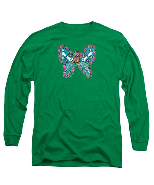 June Butterfly Long Sleeve T-Shirt