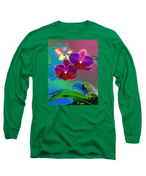 Long Sleeve T-Shirt featuring the photograph Just Open 2 by M Diane Bonaparte