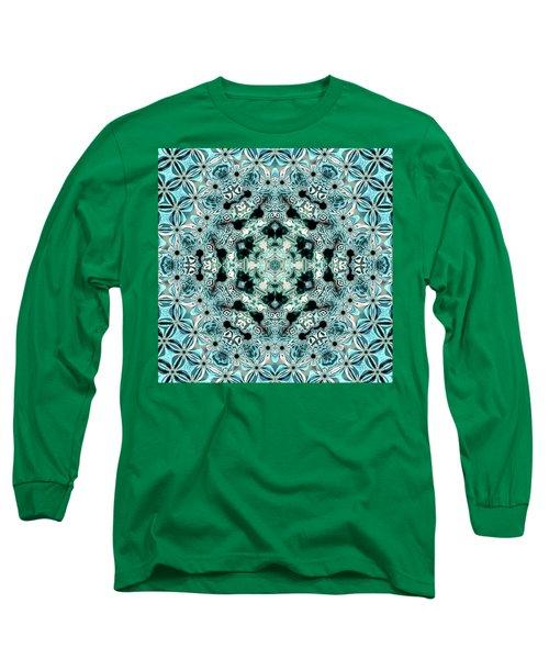Long Sleeve T-Shirt featuring the digital art Jyoti Ahau 996 by Robert Thalmeier