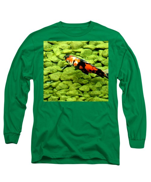 Long Sleeve T-Shirt featuring the photograph Koy by Christopher Woods