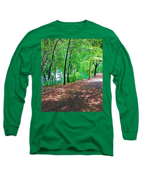 Lady Bird Trail Long Sleeve T-Shirt