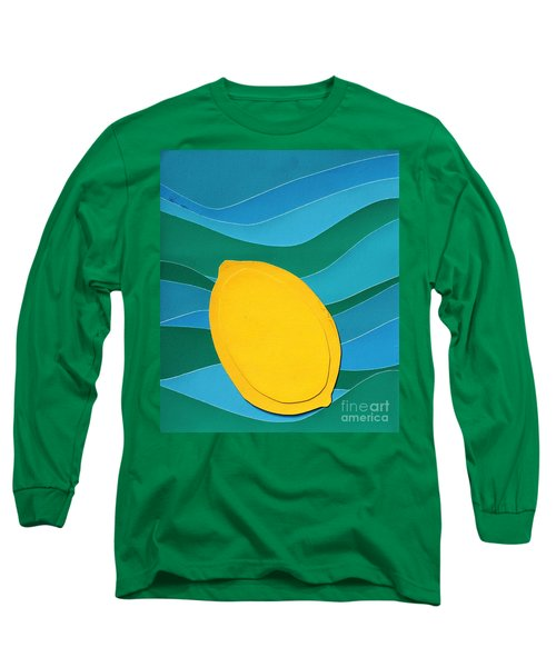 Lemon Slice Long Sleeve T-Shirt