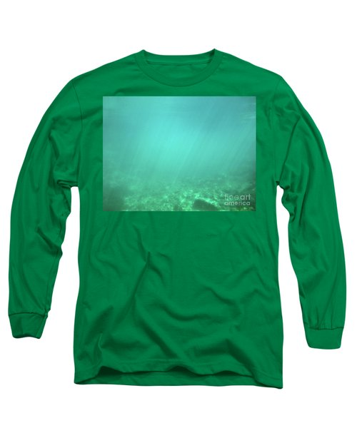 Long Sleeve T-Shirt featuring the photograph Light In The Water by Francesca Mackenney