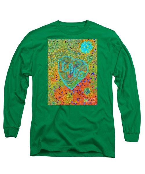 Light Love By Jasna Gopic Long Sleeve T-Shirt