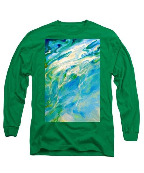 Liquid Assets Long Sleeve T-Shirt by Dina Dargo
