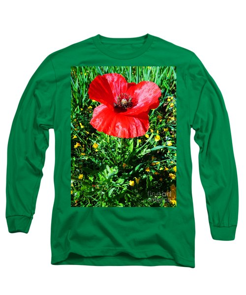 Lonely Poppy Long Sleeve T-Shirt