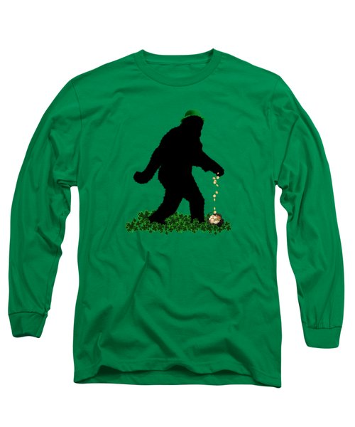 Lucky Sasquatch Long Sleeve T-Shirt