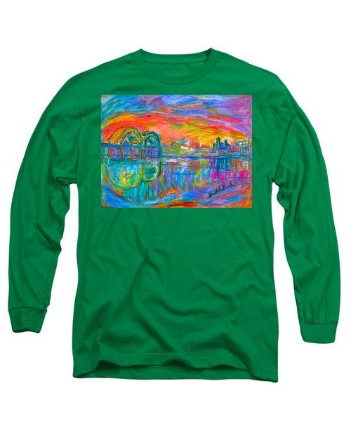 Memphis Spin Long Sleeve T-Shirt