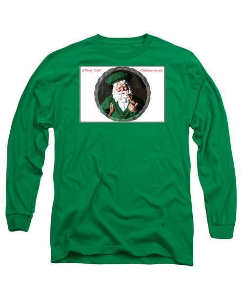 Merry Irish Santa Long Sleeve T-Shirt