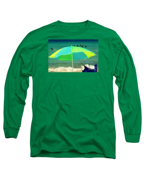Long Sleeve T-Shirt featuring the photograph Miami Beach 3 by France Laliberte