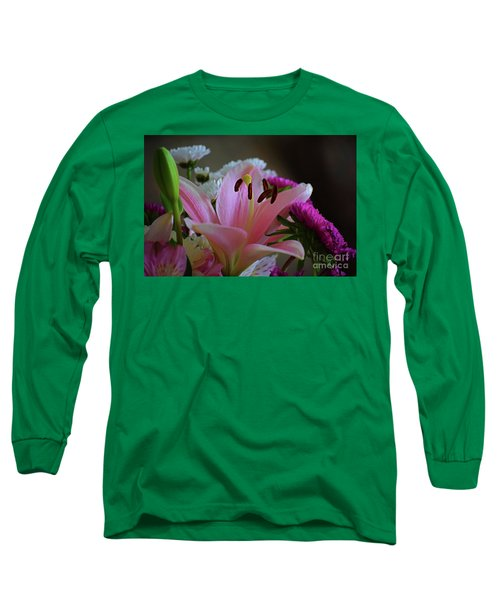 Middle Lily Long Sleeve T-Shirt