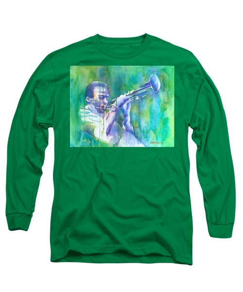 Miles Is Cool Long Sleeve T-Shirt