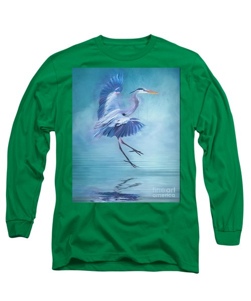 Misty Blue Long Sleeve T-Shirt