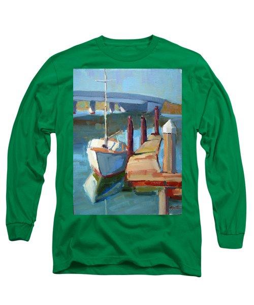 Moss Landing Morning Long Sleeve T-Shirt