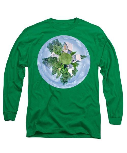Nebraska Farm - Transparent Long Sleeve T-Shirt