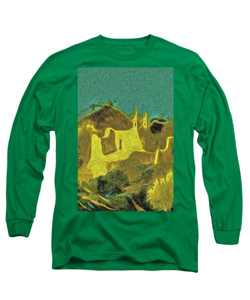 New Mexico Skyline Long Sleeve T-Shirt