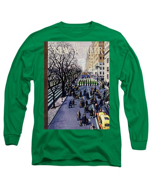 New Yorker March 14 1953 Long Sleeve T-Shirt