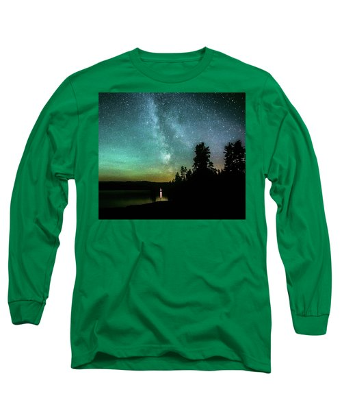 Night Sky Long Sleeve T-Shirt