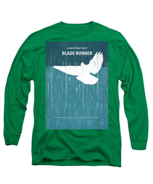 No011 My Blade Runner Minimal Movie Poster Long Sleeve T-Shirt