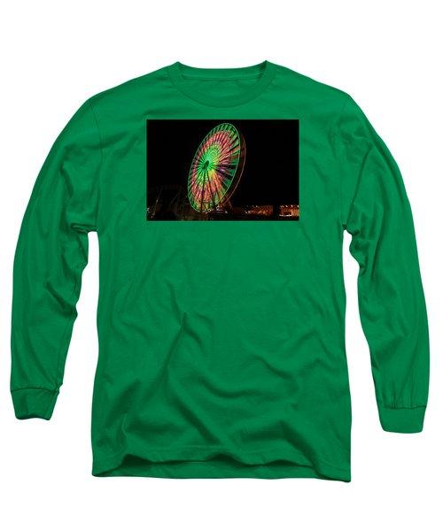Ocean City Ferris Wheel Long Sleeve T-Shirt