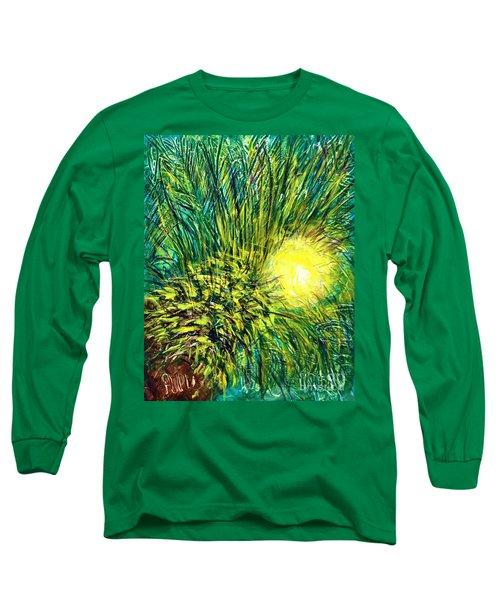 Palm Sunburst  Long Sleeve T-Shirt