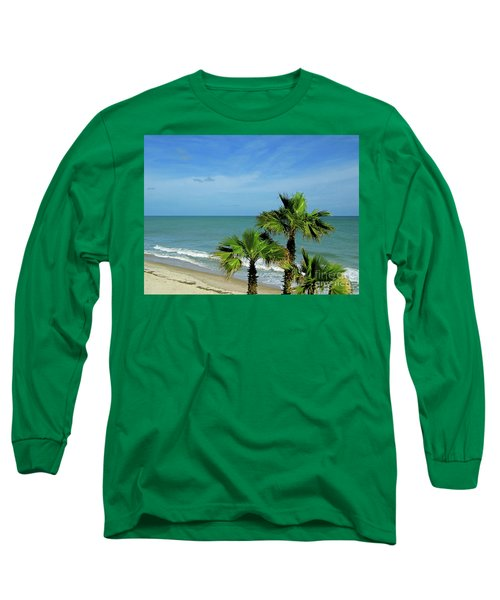 Palms At Vero Beach Long Sleeve T-Shirt