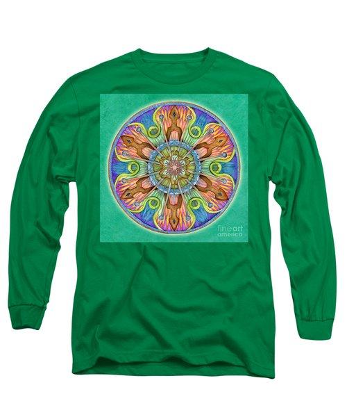 Patience Mandala Long Sleeve T-Shirt