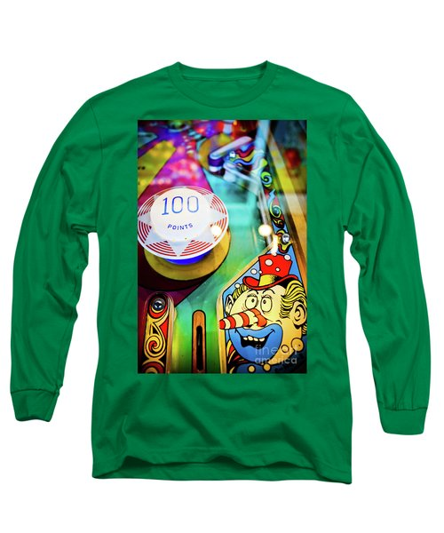 Pinball Art - Clown Long Sleeve T-Shirt