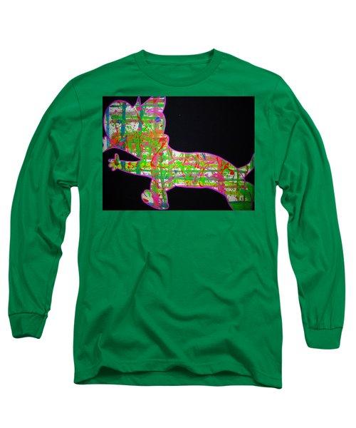 Plaid Long Sleeve T-Shirt
