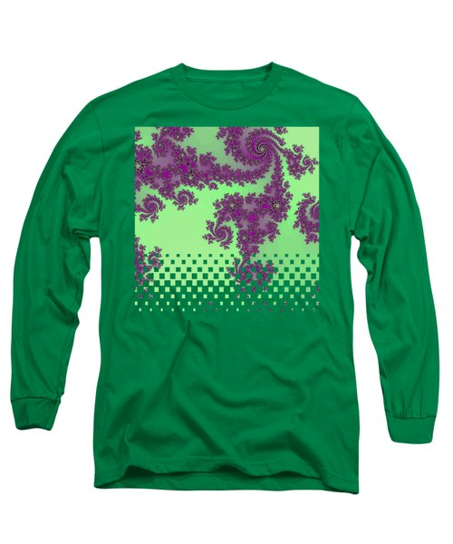 Purple Lace Long Sleeve T-Shirt