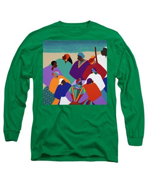 Ring Shout Gullah Islands Long Sleeve T-Shirt