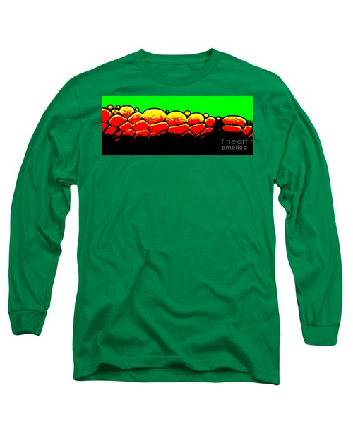 Rock Wall Long Sleeve T-Shirt by Tim Townsend