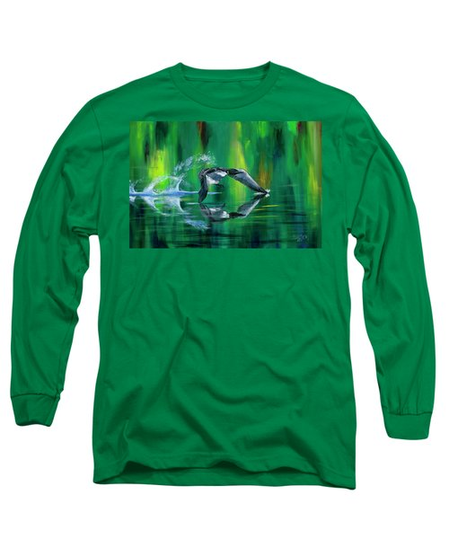 Rocket Feathers Long Sleeve T-Shirt