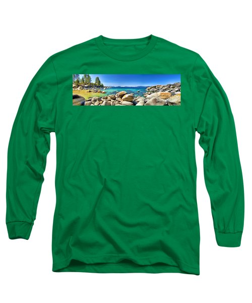 Rocky Cove Sand Harbor Long Sleeve T-Shirt