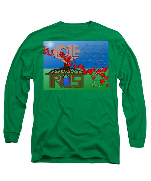 Rooted In Trust Long Sleeve T-Shirt
