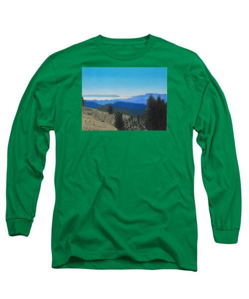 Santa Cruz Mountains Looking To Monterey Bay Long Sleeve T-Shirt