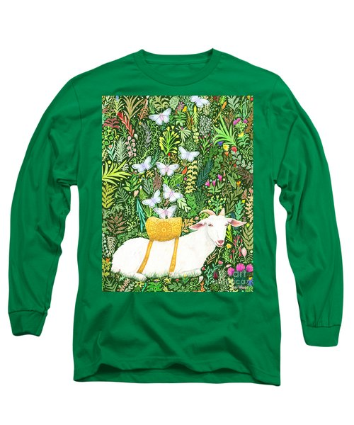 Long Sleeve T-Shirt featuring the painting Scapegoat Healing by Lise Winne