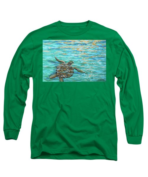 Sea Turtle Dream Long Sleeve T-Shirt