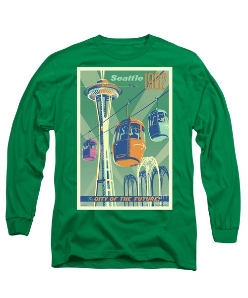 Seattle Space Needle 1962 - Alternate Long Sleeve T-Shirt