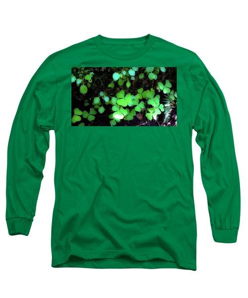 shamrocks #1A Long Sleeve T-Shirt
