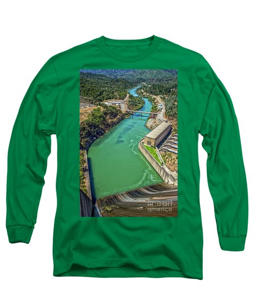 Shasta Lake Dam Long Sleeve T-Shirt